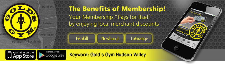 golds gym hudson valley, NY